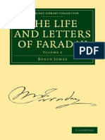 Bence Jones, Michael Faraday the Life and Letter Volume 2