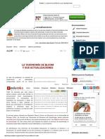 Eduteka - La taxonomía de Bloom y sus actualizaciones.pdf