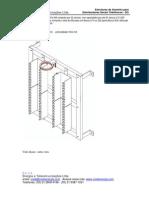Mini DG parede Estrutura Krone - Bargoa BR7-0810-400