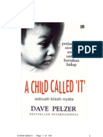 A Child Called It by Dave Pelzer Bhs Indonesia