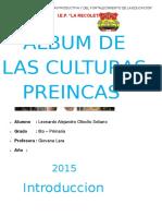 Las Culturas Preincas