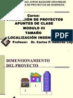 MODULO III TAMAÑO LOCALIZACION INGENIERIA.ppt