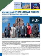 Publieksversie collegeprogramma 2010-2014