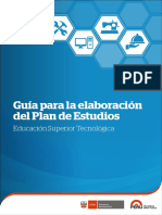 Guia Para La Elaboracion Del Plan de Estudios IESTP