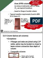 AISC Column Splices D2P5