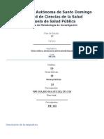 Catedra de metodologia de la investigacion