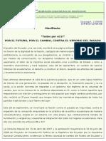 Manifiesto FES 11 de Septiembre Del 2008