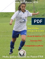 Revista FFemenino galego  Marzo 2016
