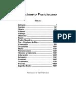 Cancionero Franciscano