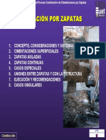 Cimentacion Por Zapatas