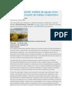 Química ambiental analisis de aguas