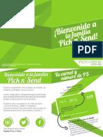 Brochure de Servicios Pick n Send - 2015