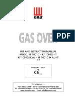 Horno EKA Manual