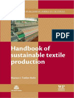 Sustainable Textile Production Content