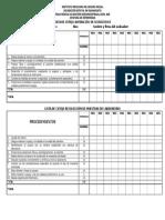 Lista de Cotejo Aspiración de Secreciones y Recolección de Muestras de Laboratorio