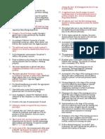 Fundamentals of Nursing Bullets222