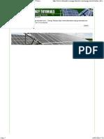 Solar Cell I-V Characteristic and the Solar Cell I-V Curve