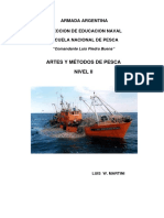 Artes y Métodos de Pesca Nivel II 2013