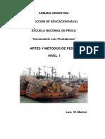 Artes y Métodos de Pesca Nivel I 2013