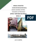 Artes y Métodosde Pesca Nivel III 2013