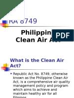 Republic Act 8749 Salient Features