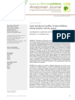Lipid and Glucose Profiles of Dairy Buffaloes During Lactation and Dry Period - Monteiro Et Al 2012
