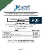 MSD Grp 11 Proposal 2 Electrodeposition System