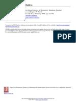 Analysis of Classroom Discipline