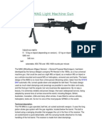 FN MAG Squad Automatic Weapon