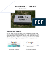 The Life and Death of Web 2.0 by Adam Bellow