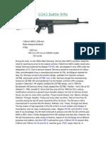 G3A3 Battle Rifle