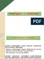 Jumlah Pelanggan vs Salesman