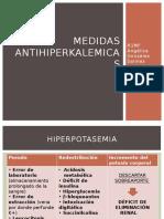 Medidas antihiperkalemicas