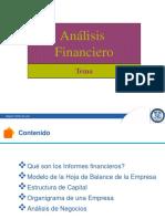 Estructura Del Análisis Financiero