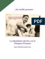 El vals criollo peruano la identidad colectiva en la Diáspora Peruana