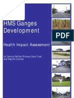 HMS Ganges HIA Report (final version) 2004