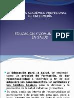 Educación y Comunicación en Salud y Tipos de Salud