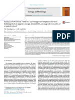 Analysis of Structural Elements and Energy Consumption of School Building Stock in Cyprus