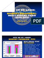 FY 2010-2011 Budget Proposal