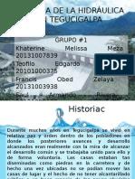 Historia de La Hidráulica en Tegucigalpa