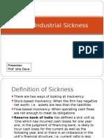 Ch 38 Industrial Sickness