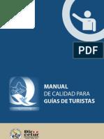 MANUAL DE CALIDAD PARA GUÍAS DE TURISTAS