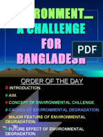 Environmental challenges to BD