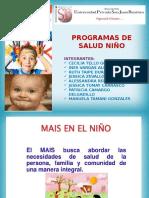 Programas de Salud Niño