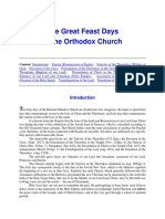 Feasts of the Orthodox Church