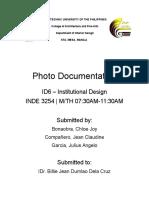 Feasibility - Photo Documentation