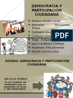 Democracia y Pariticipacion