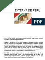Deuda Externa de Perú