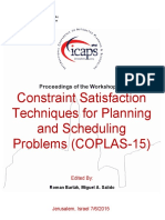 Proceedings COPLAS 2015