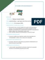 Plan de Clases Ciencias Sociales 3